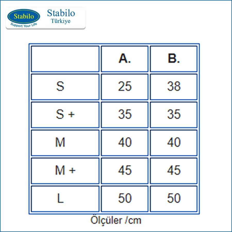 Stabilo Base ölçüler